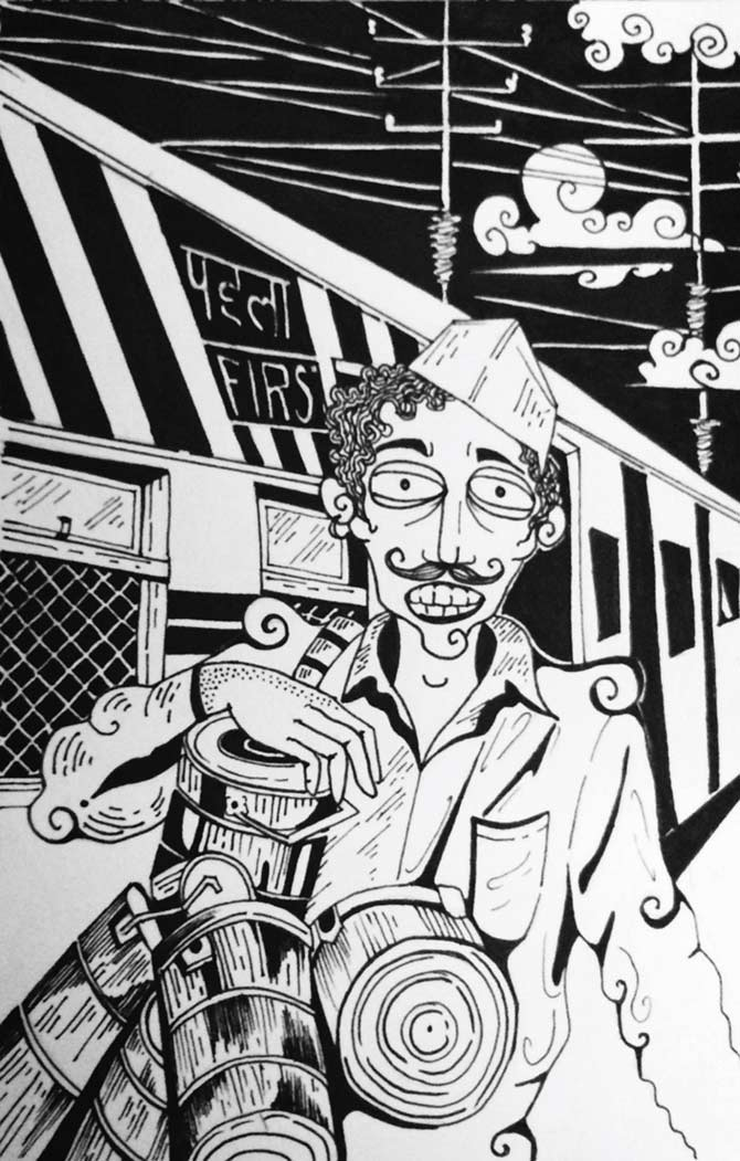 Dabbawala by Deepshikha Mondal