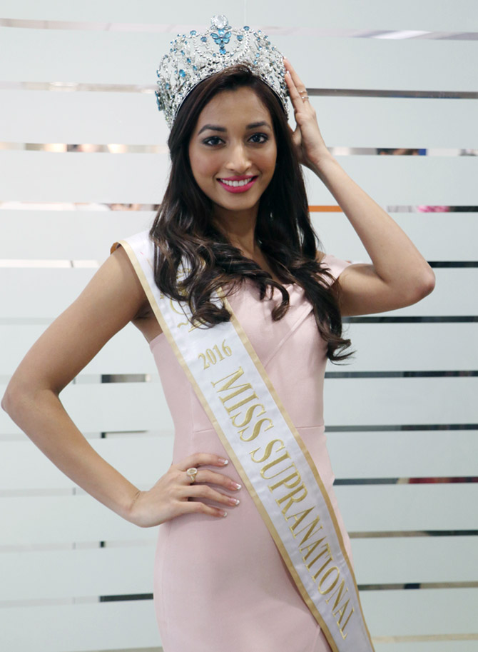 The engineer who won Miss Supranational - Rediff com Get Ahead