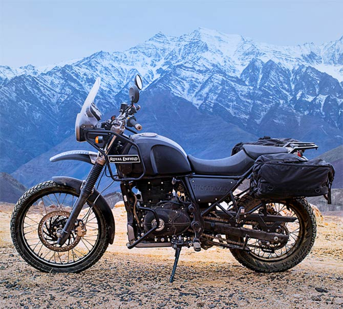 Unveiled: The Royal Enfield Himalayan