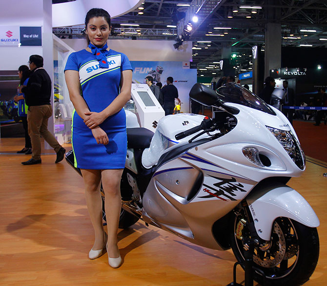 Auto Expo 2016: Bikes, glamour, launch! - Rediff com Get Ahead