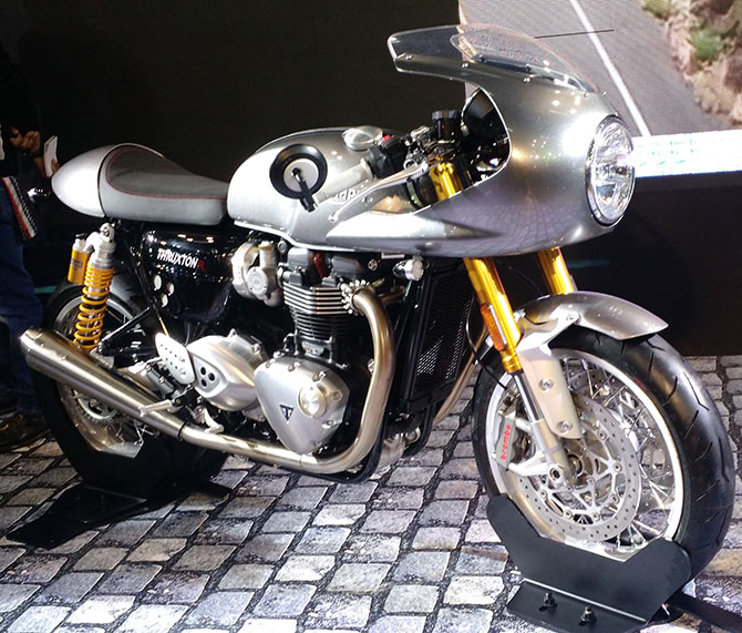 And finally, the Thruxton!