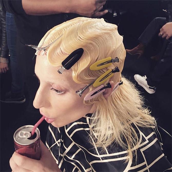 Lady Gaga Hits The Catwalk Rediff Com Get Ahead