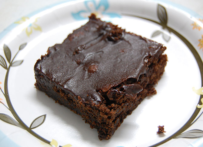 V-Day recipe: How to make sugar-free chocolate brownie