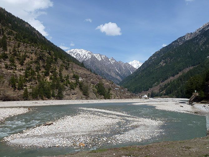 The Bhagirathi
