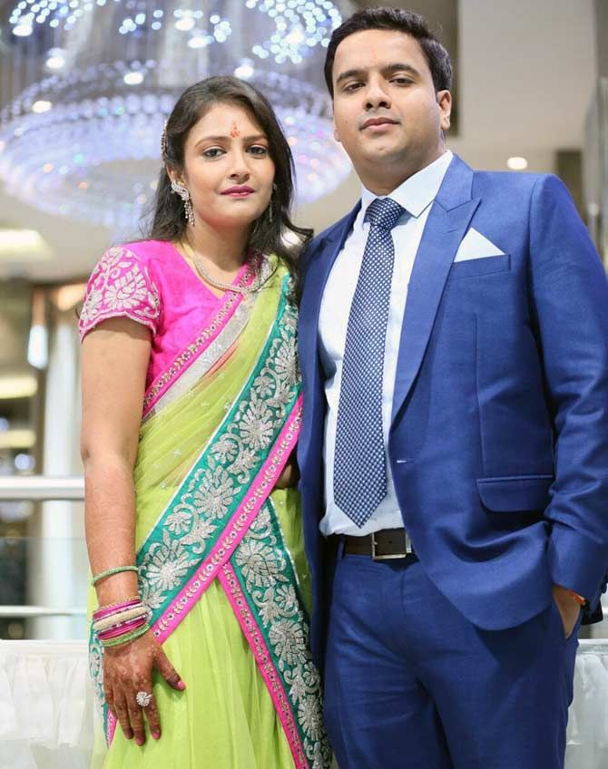 Asish Agarwal and Nupur Hamirwasi