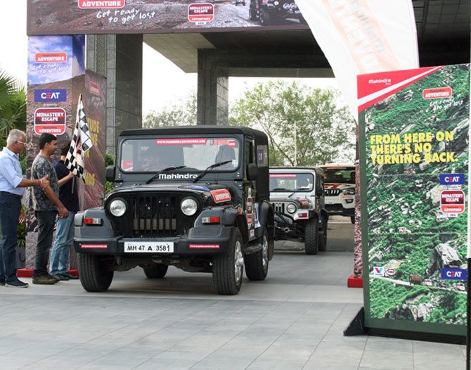 Mahindra Monastery Escape 2016 flag off