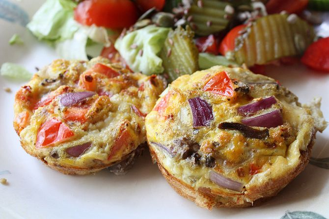Breakfast recipe: How to make Omelette Muffin