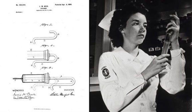 Letitia Geer invented the medical syringe