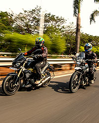 Bike review: Royal Enfield Himalayan vs Mahindra Mojo