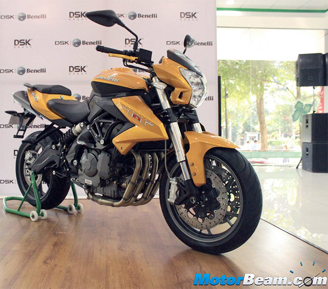 What's new in the Benelli TNT 600i?