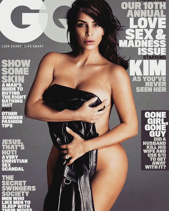 Kim Kardashian naked Mert and Marcus nude GQ Cover