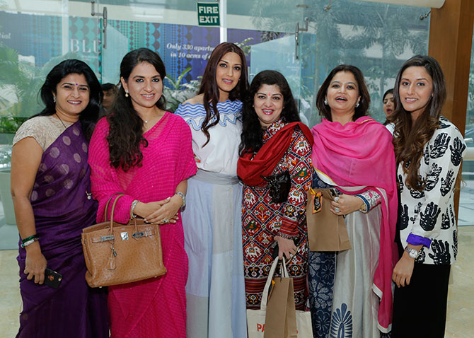 Sonali Bendre book launch
