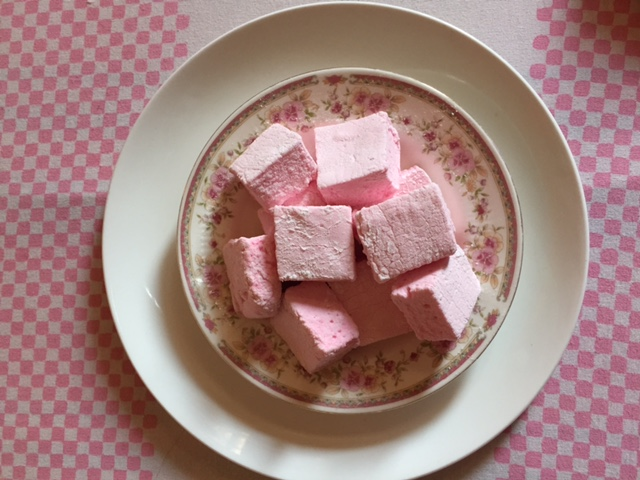 Easter recipe: Raspberry Marshmallows