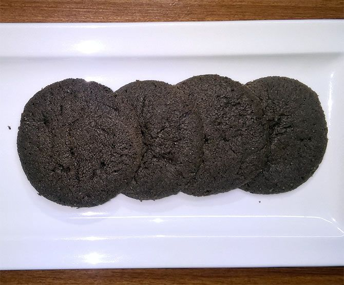 Chocolate Buckwheat Cookies