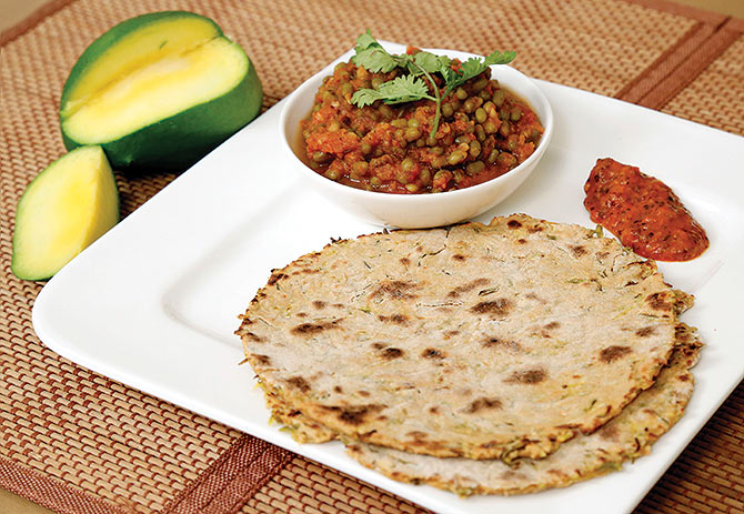 Kacha Aam Paratha and more flatbread recipes