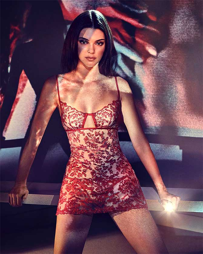5417c62b8a1a Vote  Like Kendall Jenner s sexy new lingerie  - Rediff.com Get Ahead