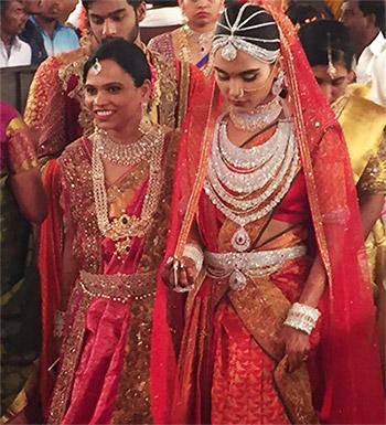 The Rs 17 Crore Sari Has It Got Diamonds On It