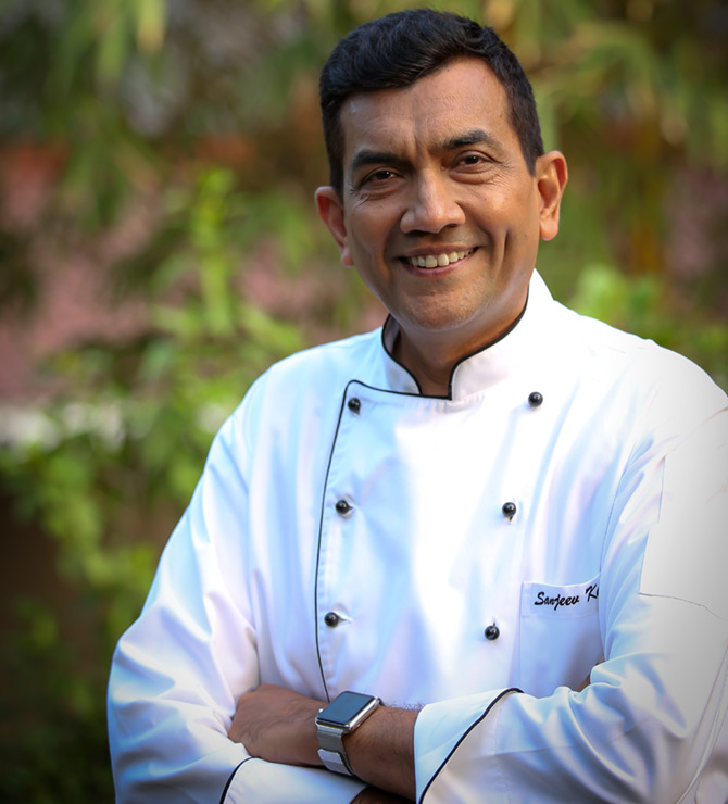 Live Chat with chef Sanjeev Kapoor