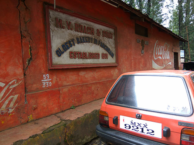 oldest bakery in panchgani