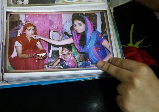 reshma family photo