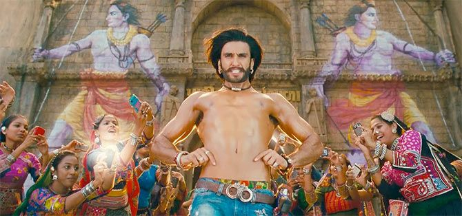 A still from movie Goliyon Ki Raasleela Ram-Leela