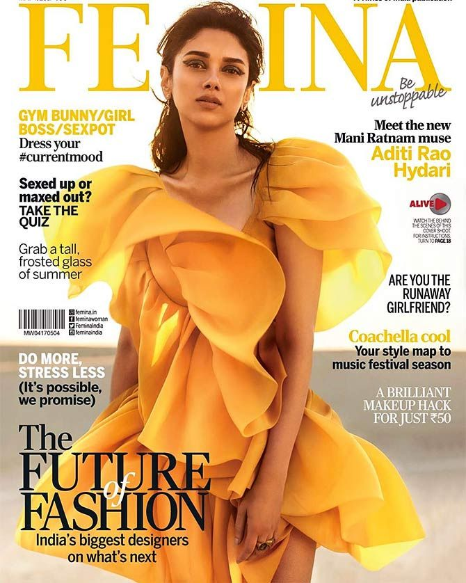 Aditi rao hydari for femina