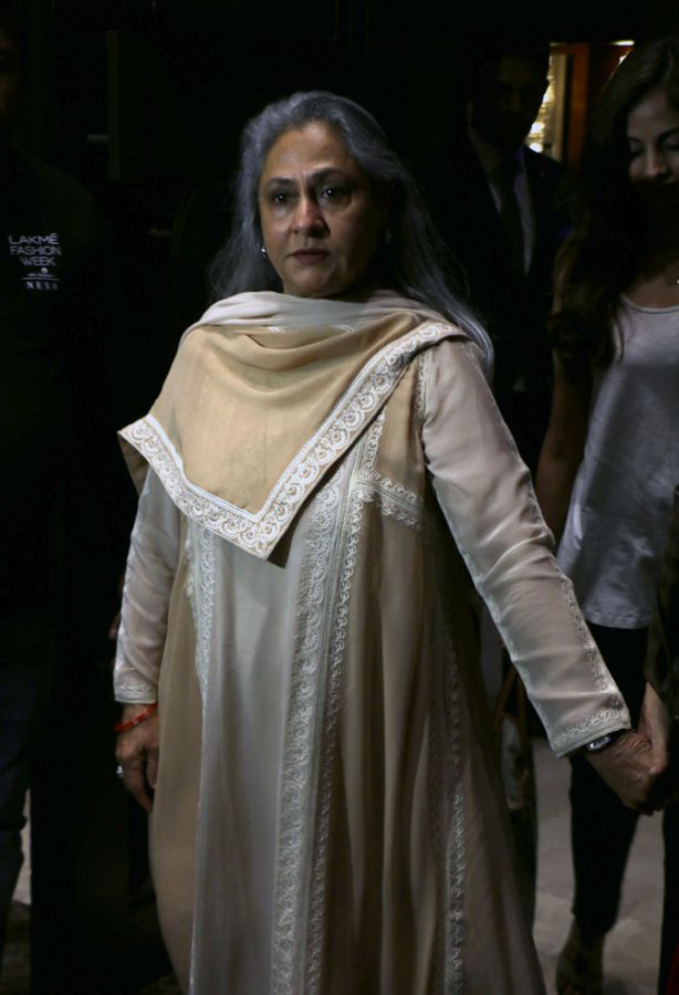 Jaya Bachchan Lakme Fashion Week