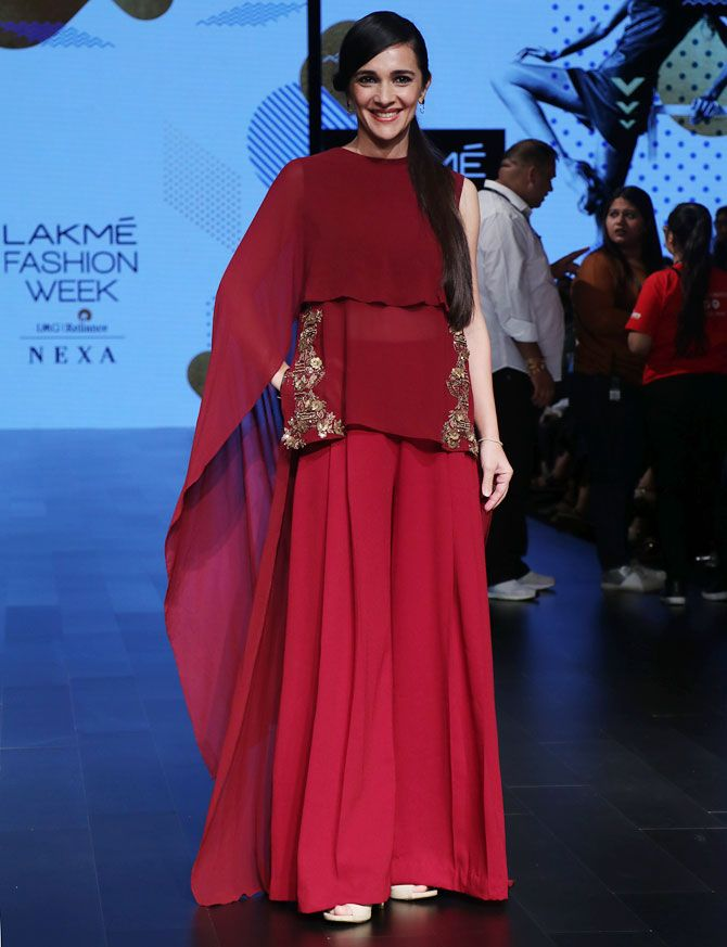 Tara Sharma Lakme Fashion Week