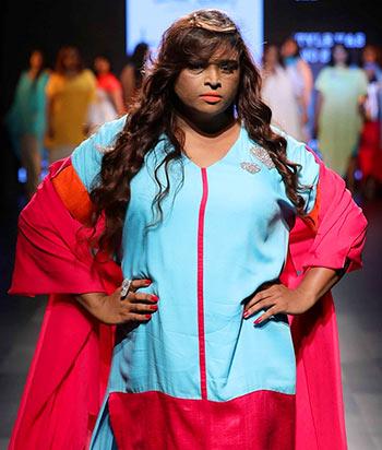 This transgender model won hearts at LFW