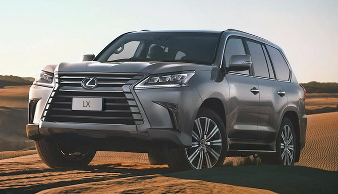 Lexus LX 450d SUV: Luxury and rock-solid performance