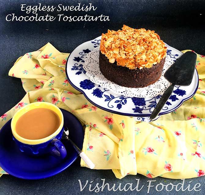 Tea-time recipes: Nutella Squares, Swedish Chocolate Toscatarta