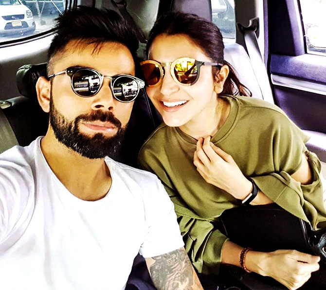 #Virushka Ki Shaadi: A jodi made in heaven!