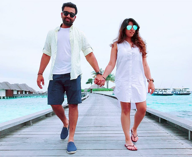 Adorable! Mrs Rohit Sharma shares smiling video of baby Samaira