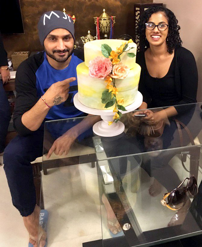 Why Harbhajan Singh is a fan of this young woman?