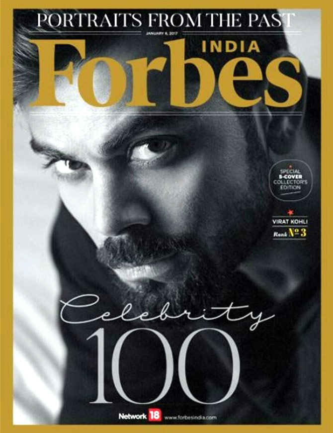 Image result for virat in forbes magazine