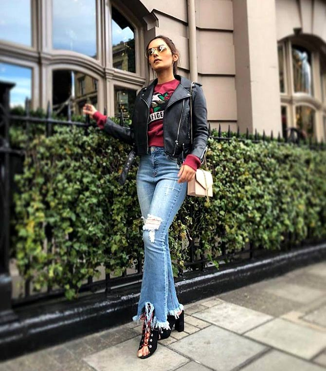Manushi Chhillar London