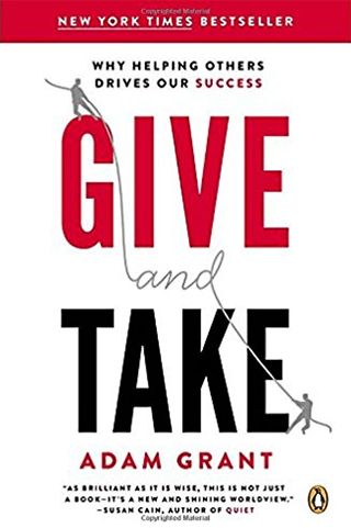 Book cover: Give and Take