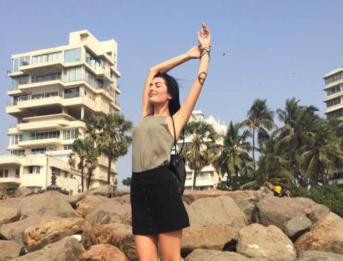 The Ukrainian model who loves Mumbai's sunsets - Rediff ...