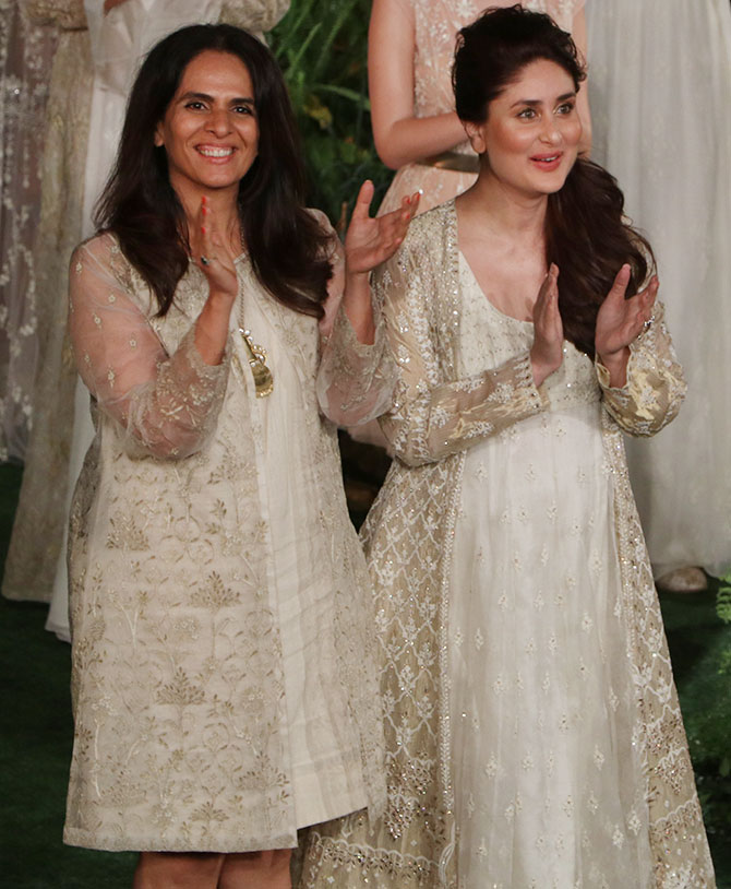 Anita Dongre and Kareena Kapoor
