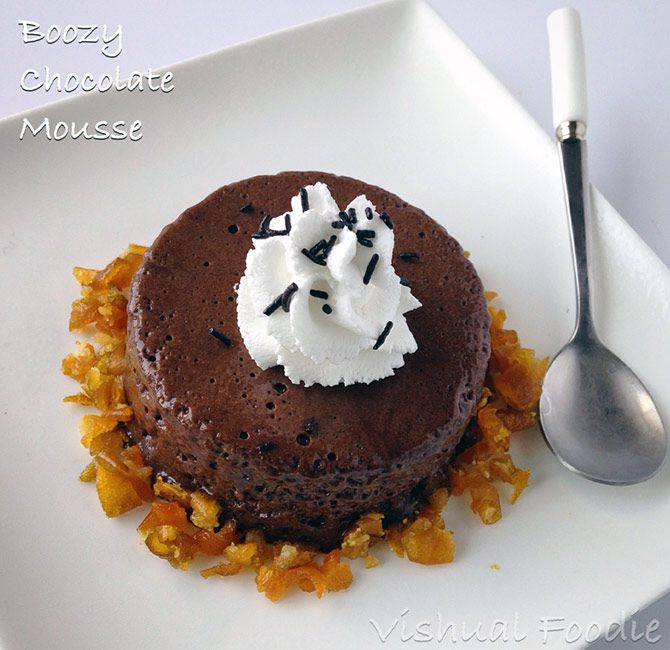 Boozy Chocolate Mousse