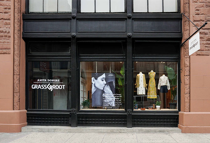 Anita Dongre store in New York City