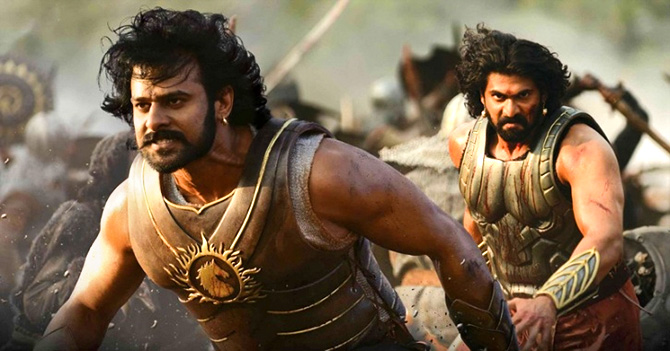 Prabhas and Rana Dagubatti in Bahubali