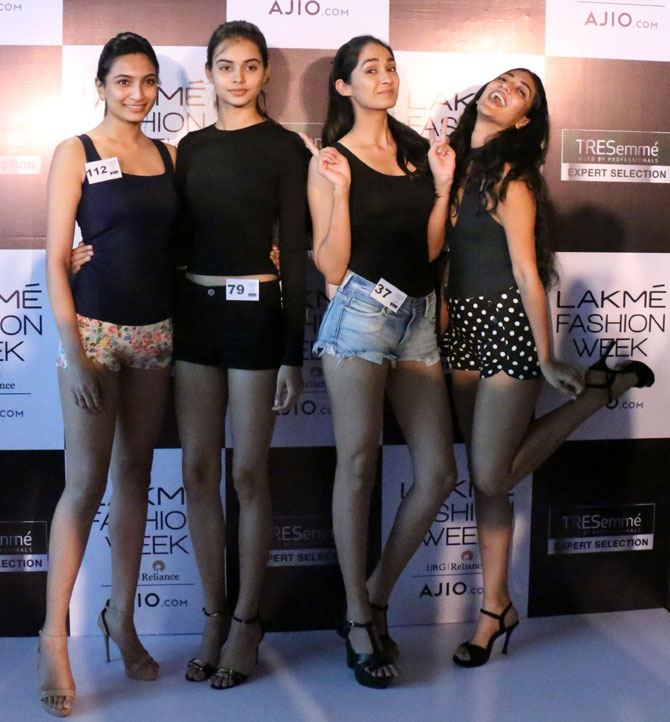 lakme auditions