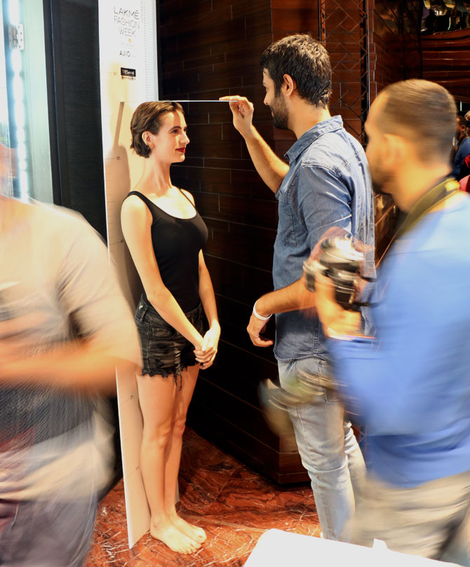 lakme model auditions