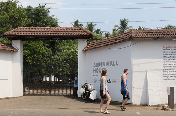 The Kochi Muziris Biennale 2016