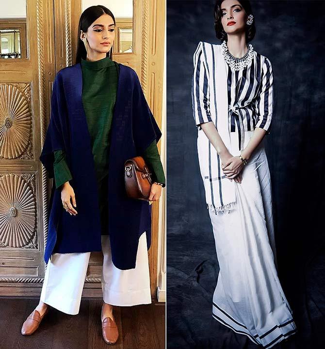 Fashionable jewellery by Sonam Kapoor