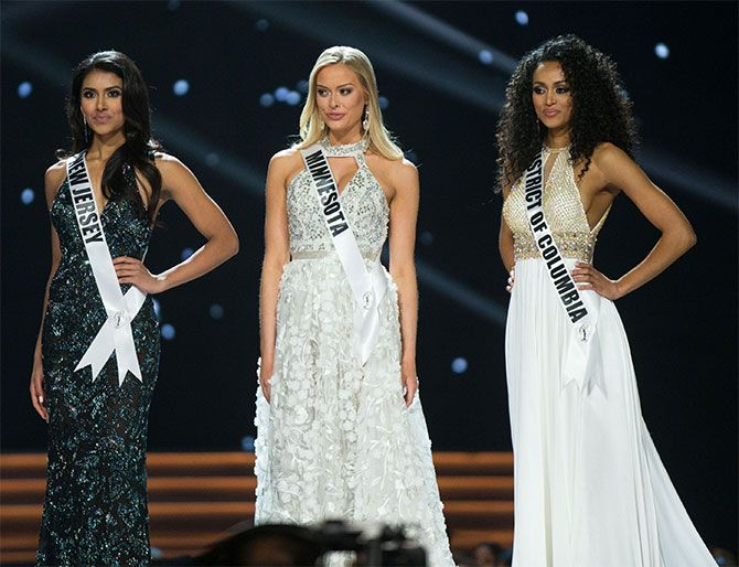 Top 3 finalists of Miss USA