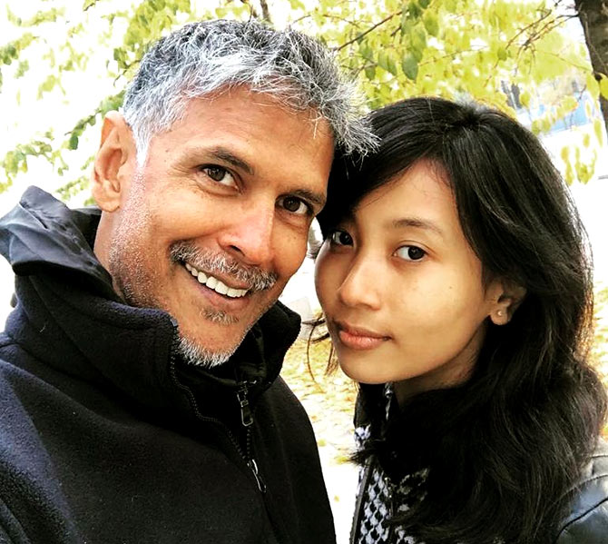 Milind Soman and Ankita