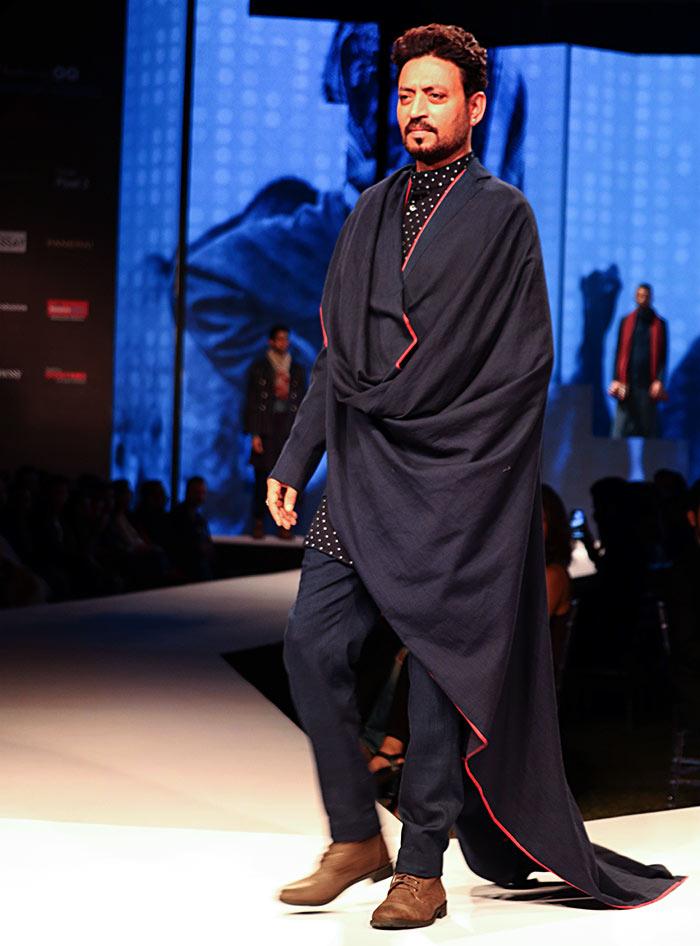 Irrfan walks for Rajesh Pratap Singh