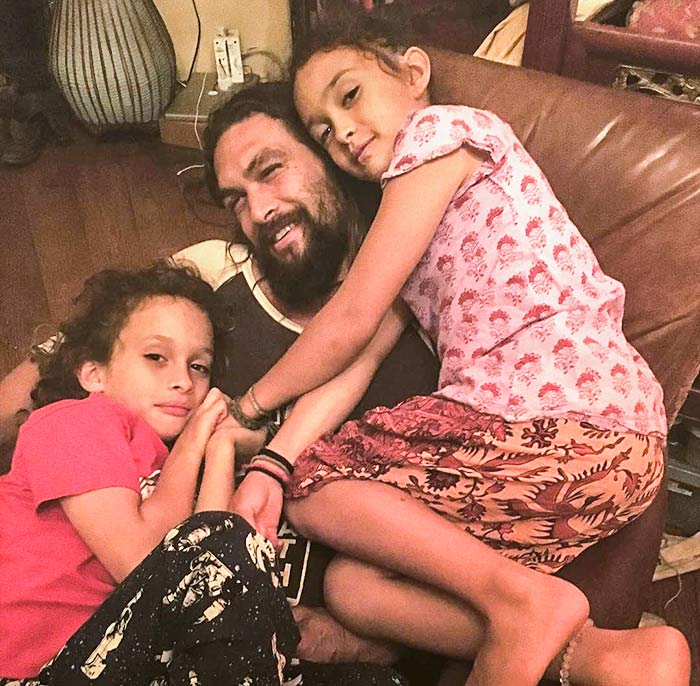 Jason Momoa Cosies Up To Lisa Bonet And Their Two Children: How To Be A Super Hot Dad Like Jason Momoa